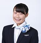 滋賀県 東近江市立湖東中学校出身 菱刈 彩愛さんの写真