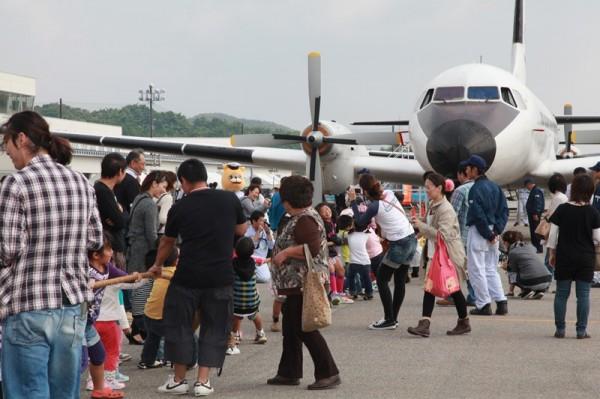 航空祭の様子