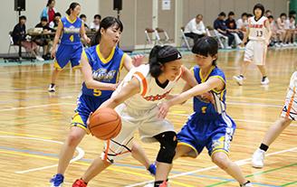 女子バスケットボール部イメージ